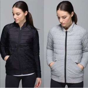 Lululemon Bomb Bomber Quilted Reversible Jacket 6